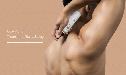 【產品開發隨筆】CSA身體鬥痘勁亮噴霧 – 身體背部痘痘剋星
